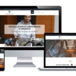 Site internet client portfolio Locksmith serrurier