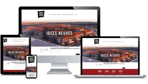 Site internet client Place aux Idées Neuves
